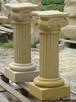 kolumny z kamienia, piaskowiec naturalny