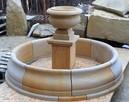 Oryginalna i stylowa fontanna z piaskowca, naturalny kamień