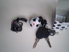 Radio -Brelok piłka do kluczyków