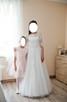 Suknia ślubna biała, rozmiar 36, wzrost 160, jak nowa! - 5