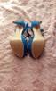 Śliczne kobaltowe szpilki STRADIVARIUS----NOWE!!! - 4