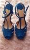 Śliczne kobaltowe szpilki STRADIVARIUS----NOWE!!! - 5