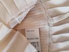 ZARA bluzka z jedwabiu kolor ecri rozmiar M - 6