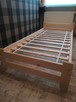 Łóżko sosnowe 90x200 z materacem, producent.Dostawa, dostępn - 2