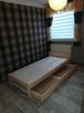 Łóżko sosnowe 90x200 z materacem, producent.Dostawa, dostępn - 1