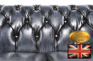 Chesterfield sofa 1 os Brighton NIEBIESKA - 5