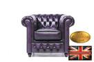 Cherstrefield sofa 1 os Brighton  FIOLET - 1