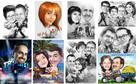 portrety i karykatury