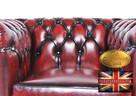 Cherstrefield sofa 1 os Brighton BORDO - 2