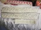 naklejka szyld emblemat Zetor 25 K, Zetor 25 A - 6