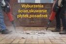 Wyburzanie ścian skuwanie tynków i płytek itp