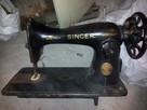 Stara maszyna SINGER 1900r