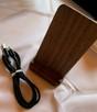 Ładowarka bezprzewodowa drewniana - 1