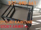 STOLIK KAWOWY ,ŁAWA, MEBLE - 1