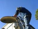 Ustawianie Anten satelitarnych - Naprawa po Wiatrach montaż