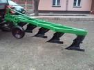 Pługi 5-skibowe firmy Unia Grudziądz - 2