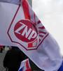 FLAGA ZNP - Związek Nauczycielstwa Polskiego WYDPED.PL