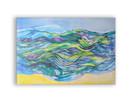 obraz z morzem, nowoczesny obraz canvas, abstrakcja obraz
