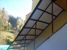 Zabudowa balkonów tarasów, daszki