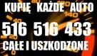 SKUP AUT KASACJA AUT CAŁE POMORSKIE GNIEW SKÓRCZ 516515433
