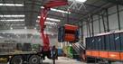 Transport HDS warszawa tir winda naczepa z wózkiem widłowym - 1
