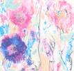 ładny obraz do sypialni, pastelowe kolory obraz nowoczesny - 5