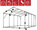Namiot PRESTIGE 4x8-2,6m magazynowy handlowy wiata garaż - 4