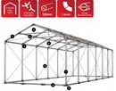 Namiot PRESTIGE 8x12 -3m magazynowy handlowy wiata garaż - 5