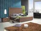 Łóżko TOFFI z wezgłowiem 143 cm+materac+stelaż.Każdy kolor.