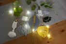 Makrama, lampion, ręcznie robiona, boho styl - 8