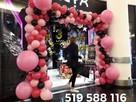 Dekoracje z balonów brama balonowa girlanda z balonów łuk