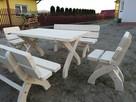 Meble ogrodowe restauracje knajpy itp producent - komplet