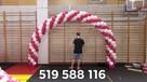 Płock bramy balonowe płock brama z balonów płock balony led