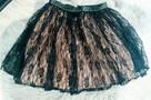 Koronkowa spódnica mini