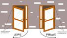 WZMOCNIONE szyba drzwi PCV kolor złoty dąb 140x210 - 4