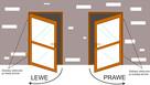 Drzwi PCV wejściowe zewnętrzne o rozmiarze 90x210 w kolorze - 4