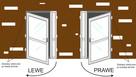 140x210 szyba panel BIAŁE DRZWI PCV dobre nowe - 3