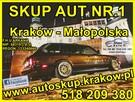 SKUP AUT NR.1 KRAKÓW www.autoskup.krakow.pl TEL: 518-209-380