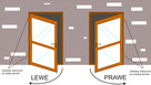 DRZWI PCV w kolorze złoty dąb szyba panel 100x200 - 3