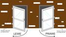 100 x 210 białe DRZWI PCV, szyba Klamka Gratis - 2