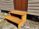 Schodki drewniane domek holenderski mobilny świerk syberyjsk - 2