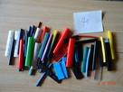 Rurki termokurczliwe 70 sztuk kolorowe