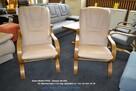Fotel FINKA - NOWY- 100% SKÓRA- Kolor Do Wyboru= MEBLE PYKA