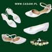 Komunijne buty dla dziewczynki produkujemy na miarę CASANI - 1
