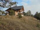 Dom z bali , w przepięknej scenerii mazowieckiego krajobrazu