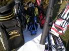 Profesjonalne kije do golfa z GRAFITU ,.wózki - wszystkiego Szczecin