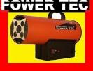 NAGRZEWNICA GAZOWA PIEC DMUCHAWA POWER TEC 50 kW Opalenica