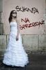 Suknia szyta na wzór La Sposa Dante (Model 2011) Kraków