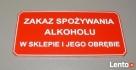 Tabliczki informacyjne Szczecin