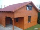 dom z drewna, całoroczny, szkieletowy, letniskowy - 1